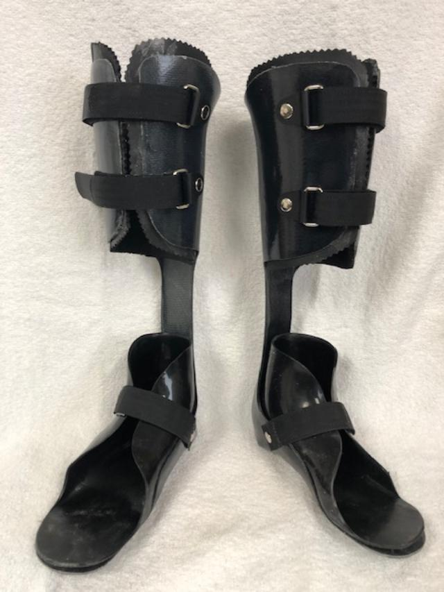 Carbon Fiber AFO with moderate strut and inner boot
